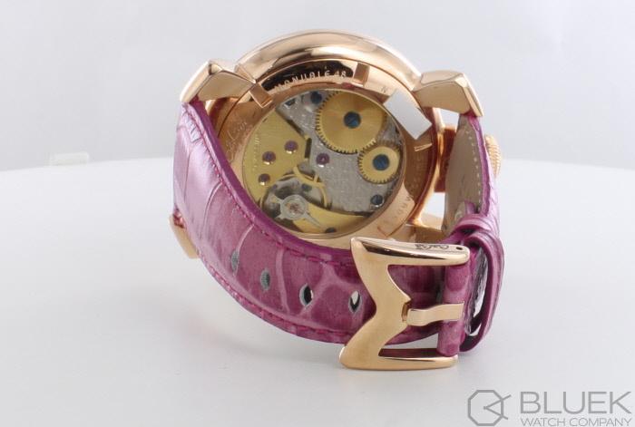 check out bedd0 7ff8c ガガミラノ マヌアーレ48MM 腕時計 メンズ GaGa MILANO 5011.09S ...