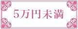 レディース5万円未満