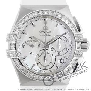 オメガ コンステレーション ダブルイーグル クロノグラフ ダイヤ 腕時計 ユニセックス OMEGA 121.17.35.50.05.001