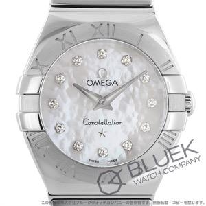 オメガ コンステレーション ポリッシュ ダイヤ 腕時計 レディース OMEGA 123.10.24.60.55.002