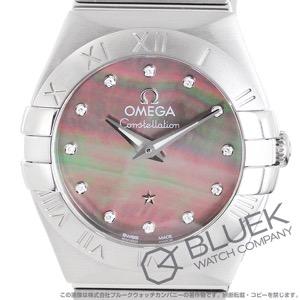 オメガ コンステレーション ブラッシュ タヒチ ダイヤ 腕時計 レディース OMEGA 123.10.24.60.57.003