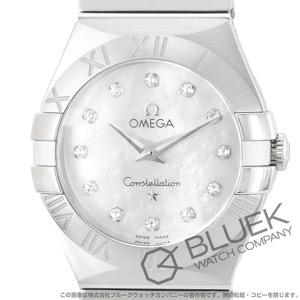 オメガ コンステレーション ブラッシュ ダイヤ 腕時計 レディース OMEGA 123.10.27.60.55.001