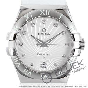 オメガ コンステレーション ダイヤ アリゲーターレザー 腕時計 レディース OMEGA 123.13.35.60.52.001