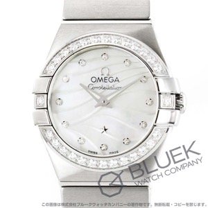 オメガ コンステレーション ブラッシュ プリュム ダイヤ 腕時計 レディース OMEGA 123.15.24.60.55.006