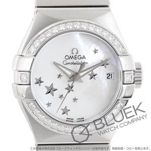 オメガ コンステレーション ブラッシュ ダイヤ 腕時計 レディース OMEGA 123.15.27.20.05.001