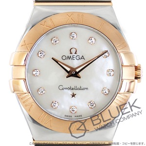 オメガ コンステレーション ポリッシュ ダイヤ 腕時計 レディース OMEGA 123.20.27.60.55.003