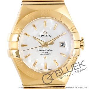 オメガ コンステレーション ブラッシュ YG金無垢 腕時計 レディース OMEGA 123.50.31.20.05.002
