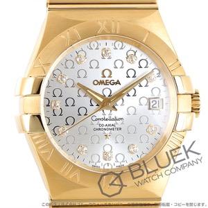 オメガ コンステレーション ブラッシュ ダイヤ YG金無垢 腕時計 ユニセックス OMEGA 123.50.35.20.52.004