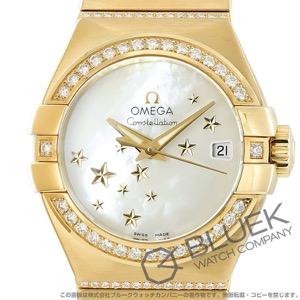 オメガ コンステレーション ブラッシュ ダイヤ YG金無垢 腕時計 レディース OMEGA 123.55.27.20.05.002