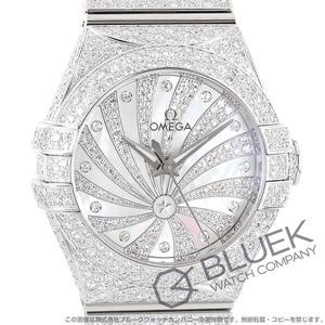 オメガ コンステレーション ダイヤ WG金無垢 腕時計 レディース OMEGA 123.55.31.20.55.007