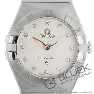 オメガ コンステレーション ブラッシュ マンハッタン ダイヤ 腕時計 レディース OMEGA 131.10.25.60.52.001
