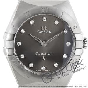 オメガ コンステレーション ブラッシュ マンハッタン ダイヤ 腕時計 レディース OMEGA 131.10.28.60.56.001