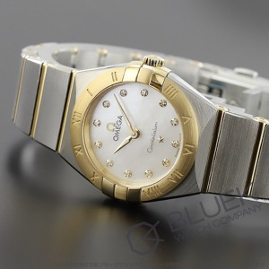 オメガ コンステレーション ブラッシュ ダイヤ 腕時計 レディース OMEGA 131.20.25.60.55.002