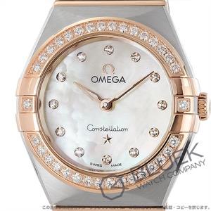 オメガ コンステレーション ブラッシュ マンハッタン ダイヤ 腕時計 レディース OMEGA 131.25.25.60.55.001