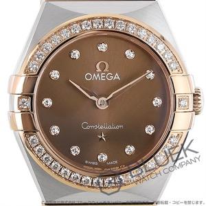 オメガ コンステレーション ブラッシュ マンハッタン ダイヤ 腕時計 レディース OMEGA 131.25.25.60.63.001