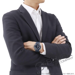 オメガ シーマスター プラネットオーシャン マスタークロノメーター 600m防水 アリゲーターレザー 腕時計 メンズ OMEGA 215.33.44.21.03.001