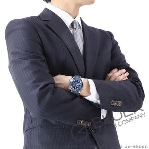 オメガ シーマスター プラネットオーシャン マスタークロノメーター クロノグラフ 600m防水 アリゲーターレザー 腕時計 メンズ OMEGA 215.33.46.51.03.001