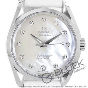 オメガ シーマスター アクアテラ マスターコーアクシャル ダイヤ アリゲーターレザー 腕時計 ユニセックス OMEGA 231.13.39.21.55.002