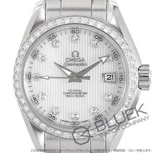 オメガ シーマスター アクアテラ ダイヤ 腕時計 レディース OMEGA 231.15.30.20.55.001