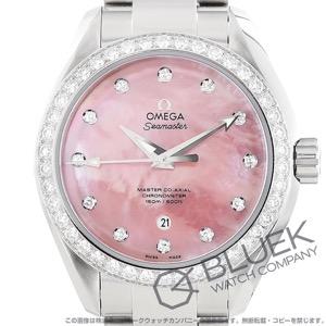 オメガ シーマスター アクアテラ ダイヤ 腕時計 レディース OMEGA 231.15.34.20.57.003