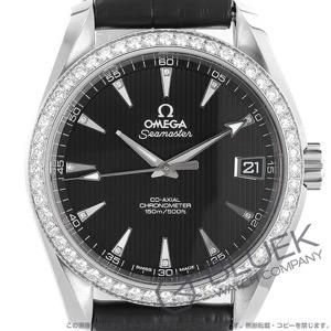 オメガ シーマスター アクアテラ ダイヤ アリゲーターレザー 腕時計 ユニセックス OMEGA 231.18.39.21.51.001