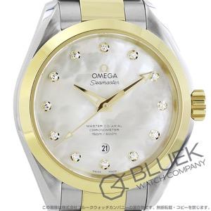 オメガ シーマスター アクアテラ ダイヤ 腕時計 レディース OMEGA 231.20.34.20.55.002