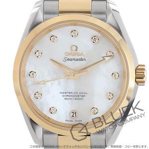 オメガ シーマスター アクアテラ ダイヤ 腕時計 ユニセックス OMEGA 231.20.39.21.55.004