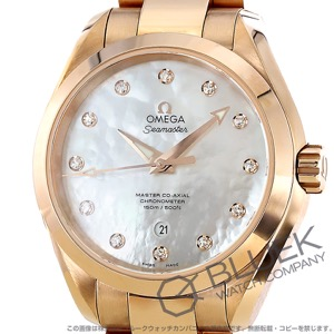 オメガ シーマスター アクアテラ ダイヤ 腕時計 レディース OMEGA 231.50.34.20.55.001