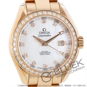 オメガ シーマスター アクアテラ ダイヤ RG金無垢 腕時計 レディース OMEGA 231.55.34.20.55.002
