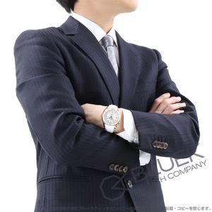 オメガ シーマスター プラネットオーシャン セラゴールド 600m防水 RG金無垢 アリゲーターレザー 腕時計 メンズ OMEGA 232.63.42.21.04.001