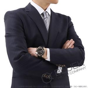 オメガ シーマスター プラネットオーシャン セラゴールド クロノグラフ 600m防水 RG金無垢 アリゲーターレザー 腕時計 メンズ OMEGA 232.63.46.51.01.001
