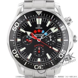 オメガ シーマスター レーシング クロノグラフ 300m防水 腕時計 メンズ OMEGA 2569.52