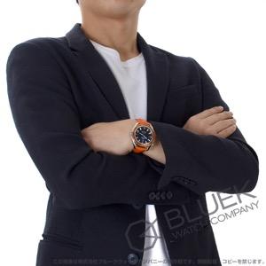 オメガ シーマスター プラネットオーシャン 600m防水 アリゲーターレザー 腕時計 メンズ OMEGA 2909.50.38