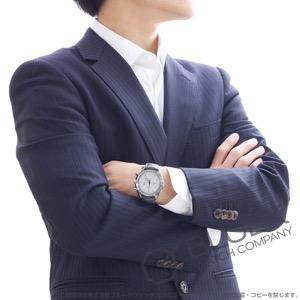 オメガ スピードマスター ムーンウォッチ グレー サイド オブ ザ ムーン クロノグラフ アリゲーターレザー 腕時計 メンズ OMEGA 311.93.44.51.99.001