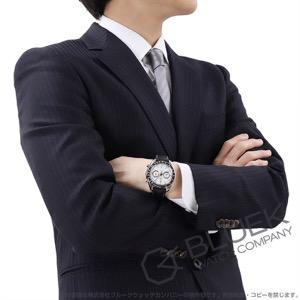 オメガ スピードマスター レーシング マスタークロノメーター クロノグラフ アリゲーターレザー 腕時計 メンズ OMEGA 329.33.44.51.04.001
