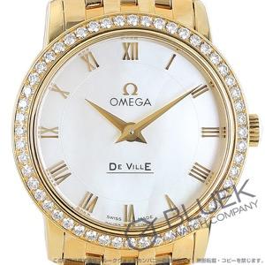 オメガ デビル プレステージ ダイヤ YG金無垢 腕時計 レディース OMEGA 413.55.27.60.05.001