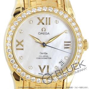 オメガ デビル ダイヤ YG金無垢 腕時計 レディース OMEGA 4186.75