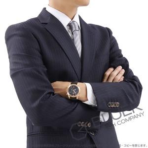 オメガ デビル クロノスコープ コーアクシャル 4カウンター クロノグラフ RG金無垢 アリゲーターレザー 腕時計 メンズ OMEGA 422.53.41.52.13.001