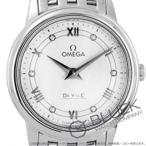 オメガ デビル プレステージ ダイヤ 腕時計 レディース OMEGA 424.10.27.60.52.002
