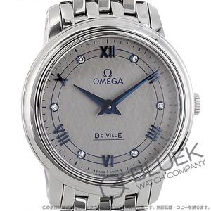オメガ デビル プレステージ ダイヤ 腕時計 レディース OMEGA 424.10.27.60.56.002