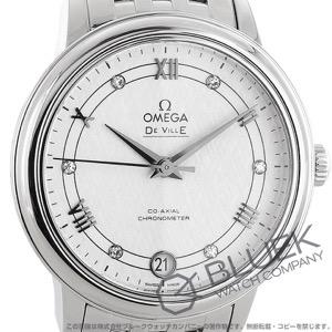 オメガ デビル プレステージ ダイヤ 腕時計 レディース OMEGA 424.10.33.20.52.002