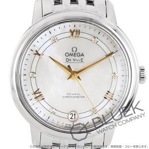 オメガ デビル プレステージ ダイヤ 腕時計 レディース OMEGA 424.10.33.20.55.002