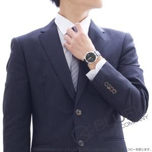 オメガ デビル プレステージ パワーリザーブ アリゲーターレザー 腕時計 メンズ OMEGA 424.13.40.21.01.001