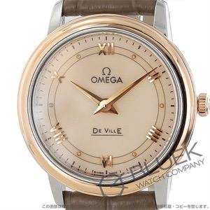 オメガ デビル プレステージ アリゲーターレザー 腕時計 レディース OMEGA 424.23.27.60.09.001