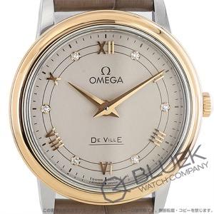 オメガ デビル プレステージ ダイヤ アリゲーターレザー 腕時計 レディース OMEGA 424.23.27.60.52.001