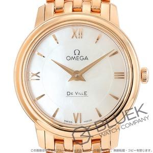 オメガ デビル プレステージ RG金無垢 腕時計 レディース OMEGA 424.50.27.60.05.002