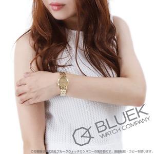 オメガ デビル プレステージ YG金無垢 腕時計 レディース OMEGA 424.50.27.60.08.001