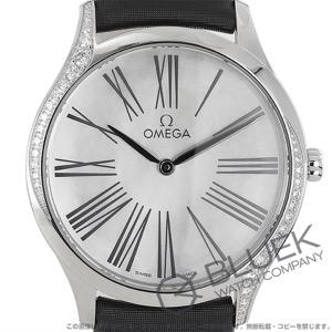 オメガ デビル トレゾア ダイヤ サテンレザー 腕時計 レディース OMEGA 428.17.36.60.05.001