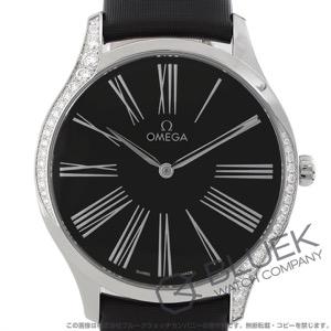 オメガ デビル トレゾア ダイヤ サテンレザー 腕時計 レディース OMEGA 428.17.39.60.01.001