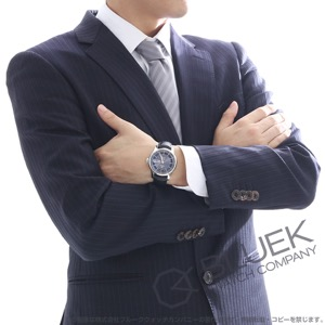 オメガ デビル アワービジョン アニュアルカレンダー アリゲーターレザー 腕時計 メンズ OMEGA 431.33.41.22.06.001